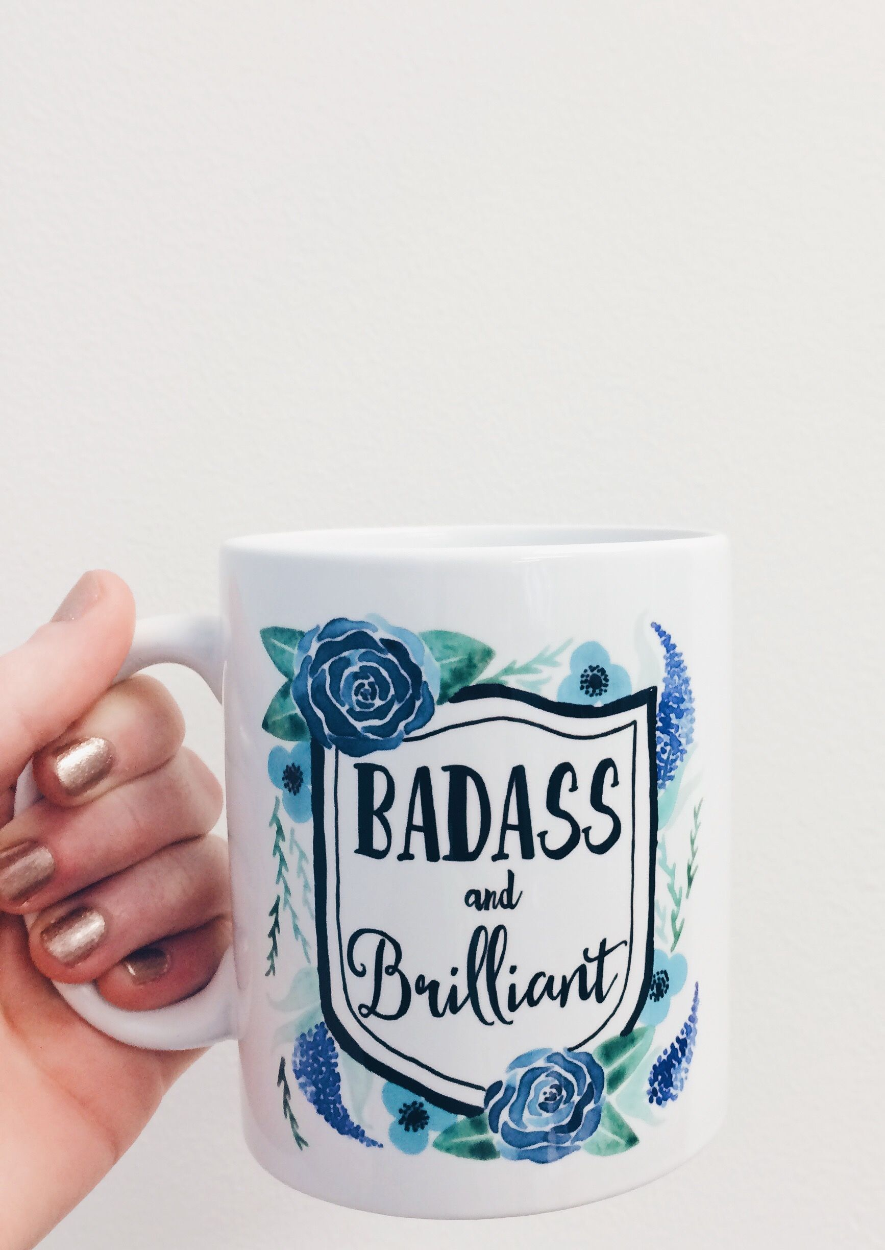 For the totally badass and brilliant coffee drinker Mugs