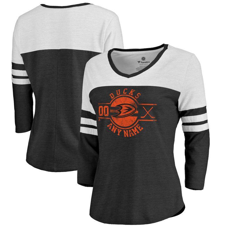 wholesale dealer 5cb8f 00e6a Anaheim Ducks Fanatics Branded Women's Personalized Insignia ...