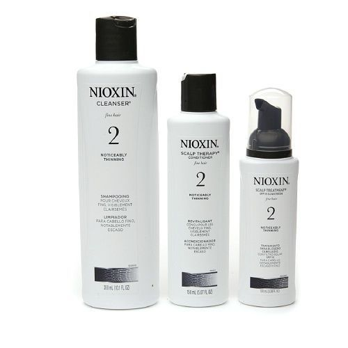Nioxin System 2 Thinning Hair Kit 3 Part Cleanser