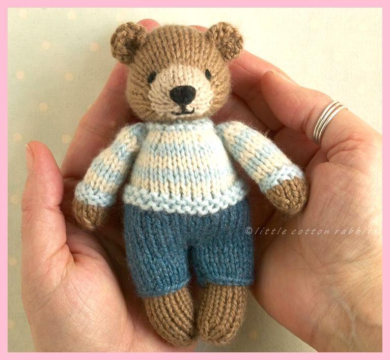 Mini-Hasen und Bären, zwei neue Muster ,  #baren #hasen #muster #beartoy