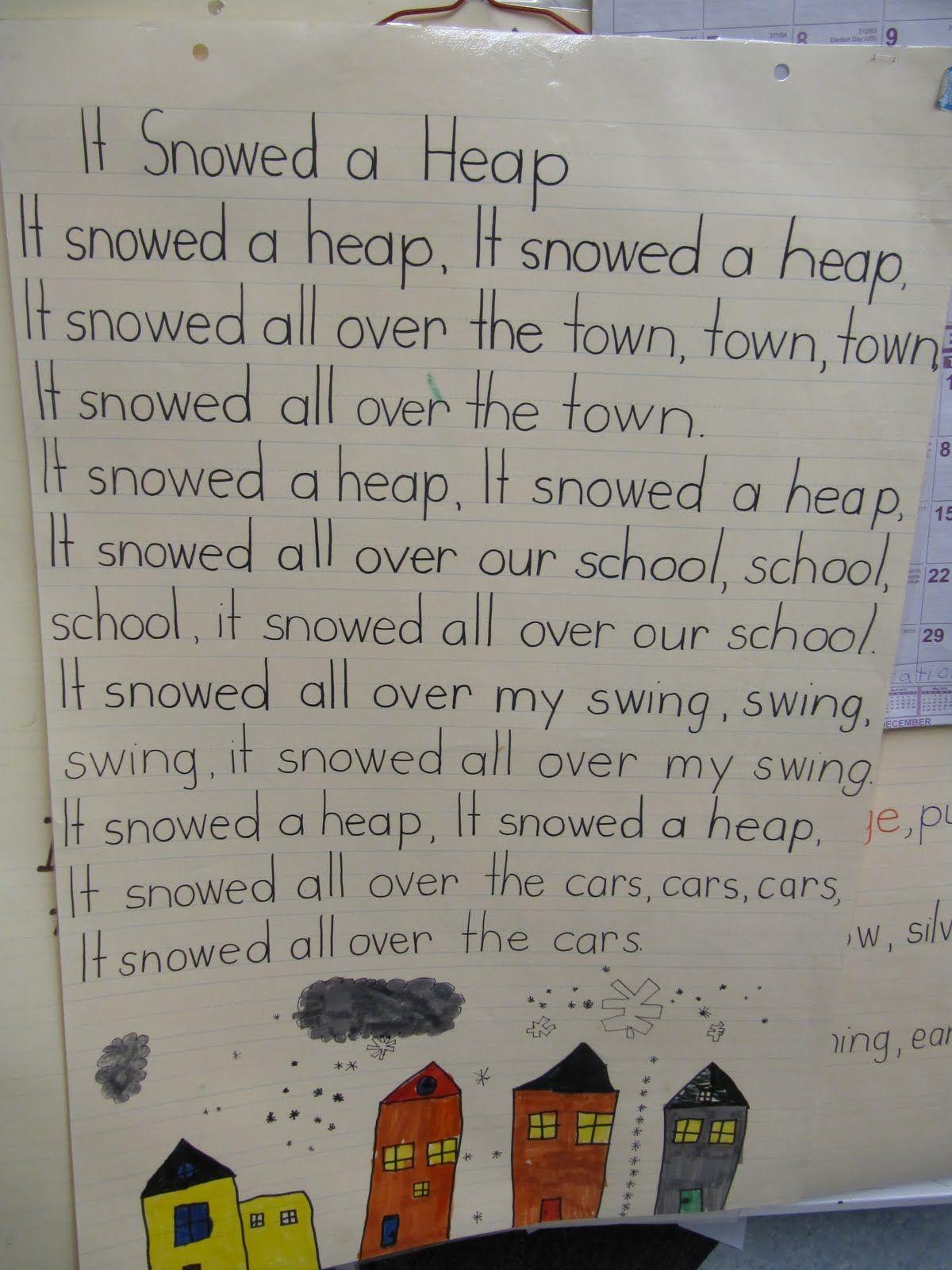 Joyful Learning In Kc It Snowed A Heap