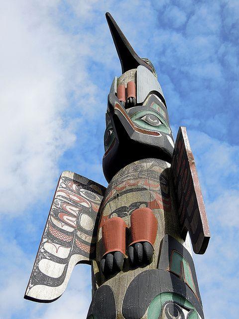 Alaskan Native Hummingbird Totem Native Americans Pinterest