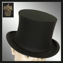 84dc99aecc0 Antique Gibus Collapsible Silk Top Hat    19th century Opera Hat Chapeau  Claque Mens Size M 7 3 8