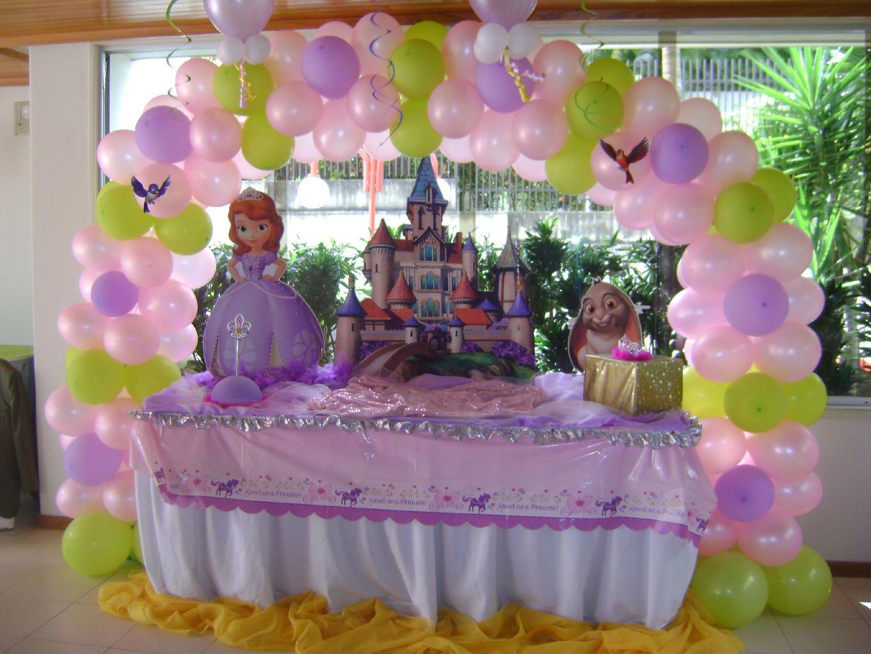 Ideas para cumplea os de princesa sofia buscar con - Decoracion cumpleanos princesas ...