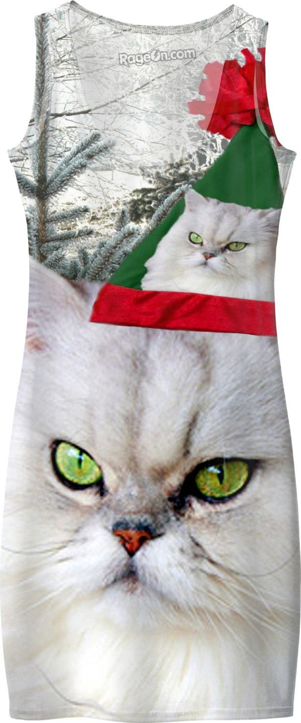 Check out my new product https://www.rageon.com/products/christmas-cat-simple-dress on RageOn!