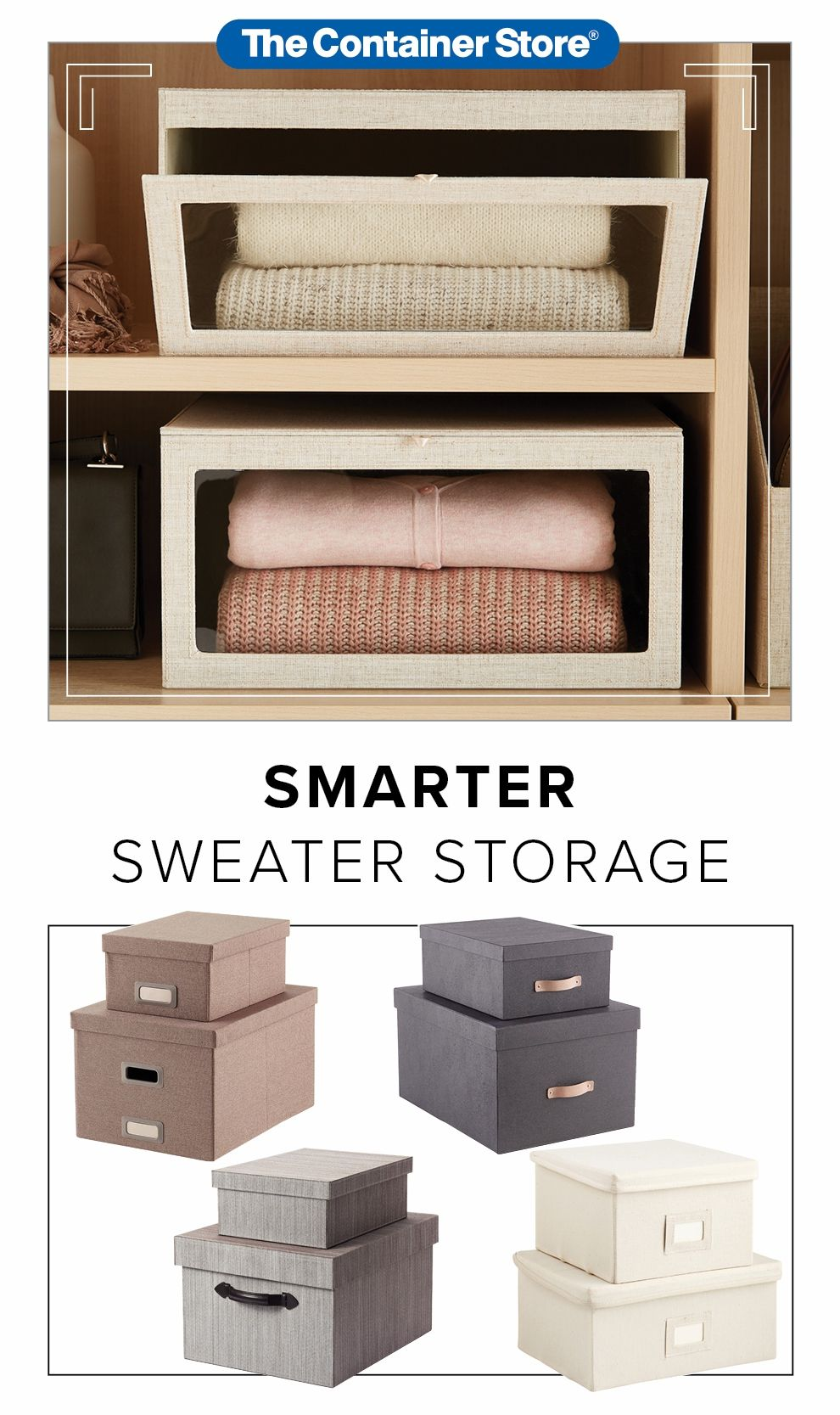 These Multi Functional Storage Boxes Are The Natural Choice For Storing Blankets Hats Sweater Bedroom Closet Storage Closet Designs Closet Shelf Organization
