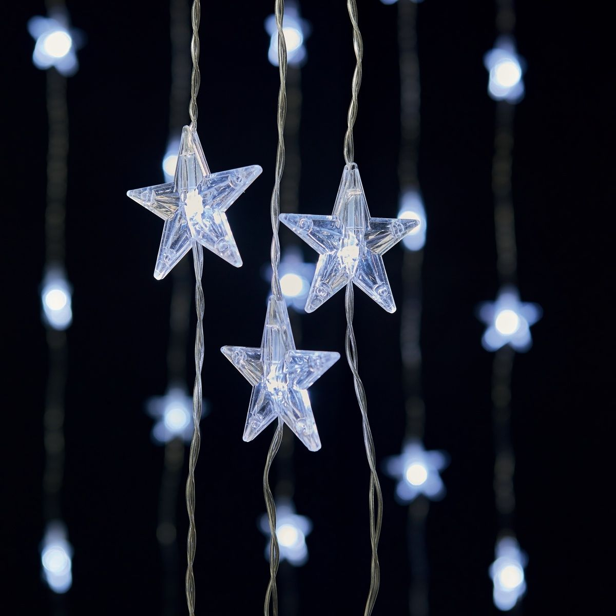 Low Voltage Star Curtain Lights Kmart Christmas Tree