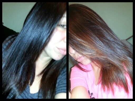 How To Go From Dark Brown Black Hair To Light Brown Hair Without