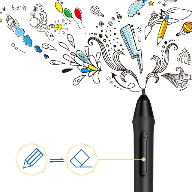 XP-Pen PN05 Triangle Battery-free Passive Stylus for