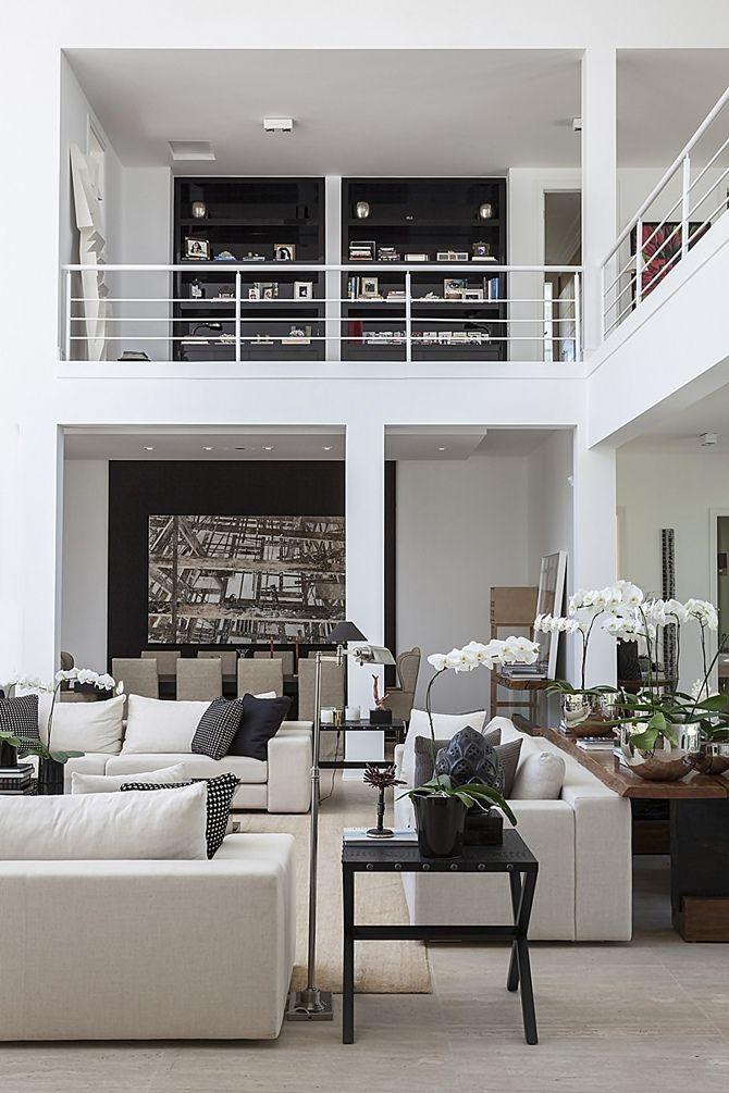 Christina Hamoui Especial decoration Pinterest Elegant living - hi tech loft wohnung loft dethier architecture