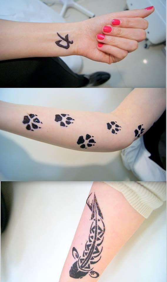 Tatuaż Z Henny Henna Tatuaż Tattoo Tatuaże Tymczasowe
