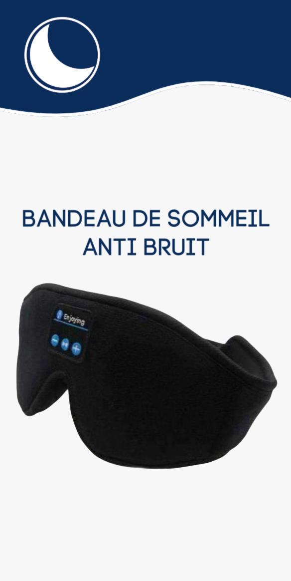 Bandeau De Sommeil Anti Bruit