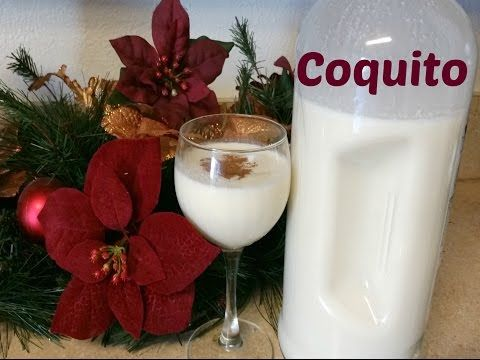 how to make the best coquito puerto rican holiday drink youtube - Puerto Rican Christmas Drink