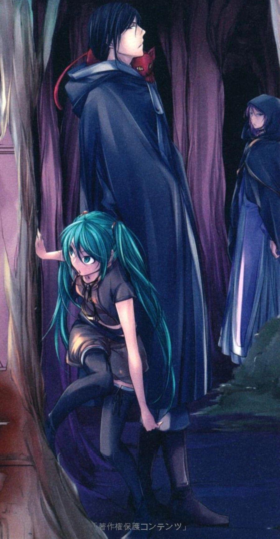 Ghim của Vũ Quỳnh trên Vocaloid Light novel, Vocaloid