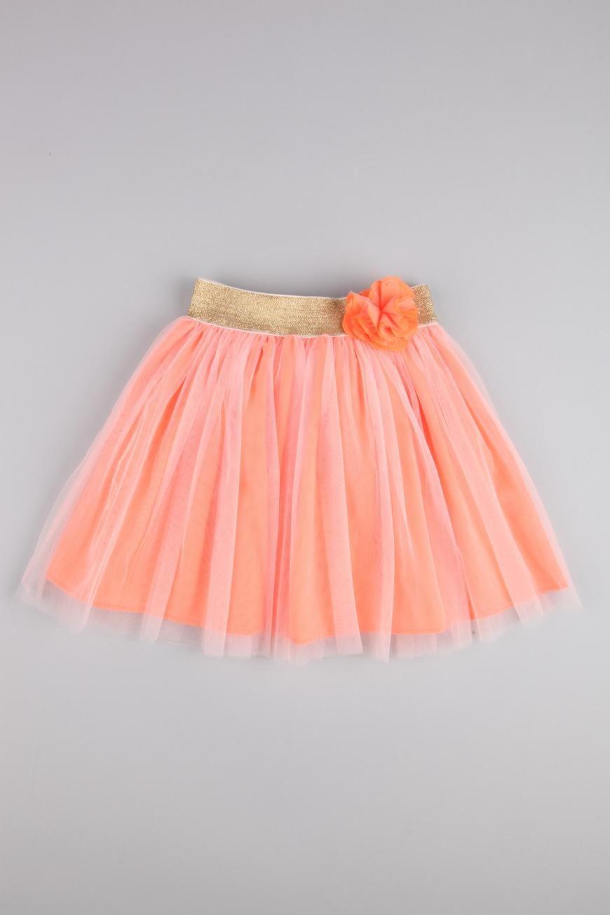4e0ff19a505e3a Love the color of this tutu! #tutu #coral # gold #girl #toddler ...