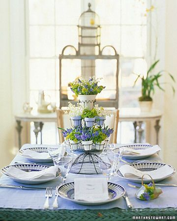 easter and spring centerpieces | centerpieces, easter and tablescapes