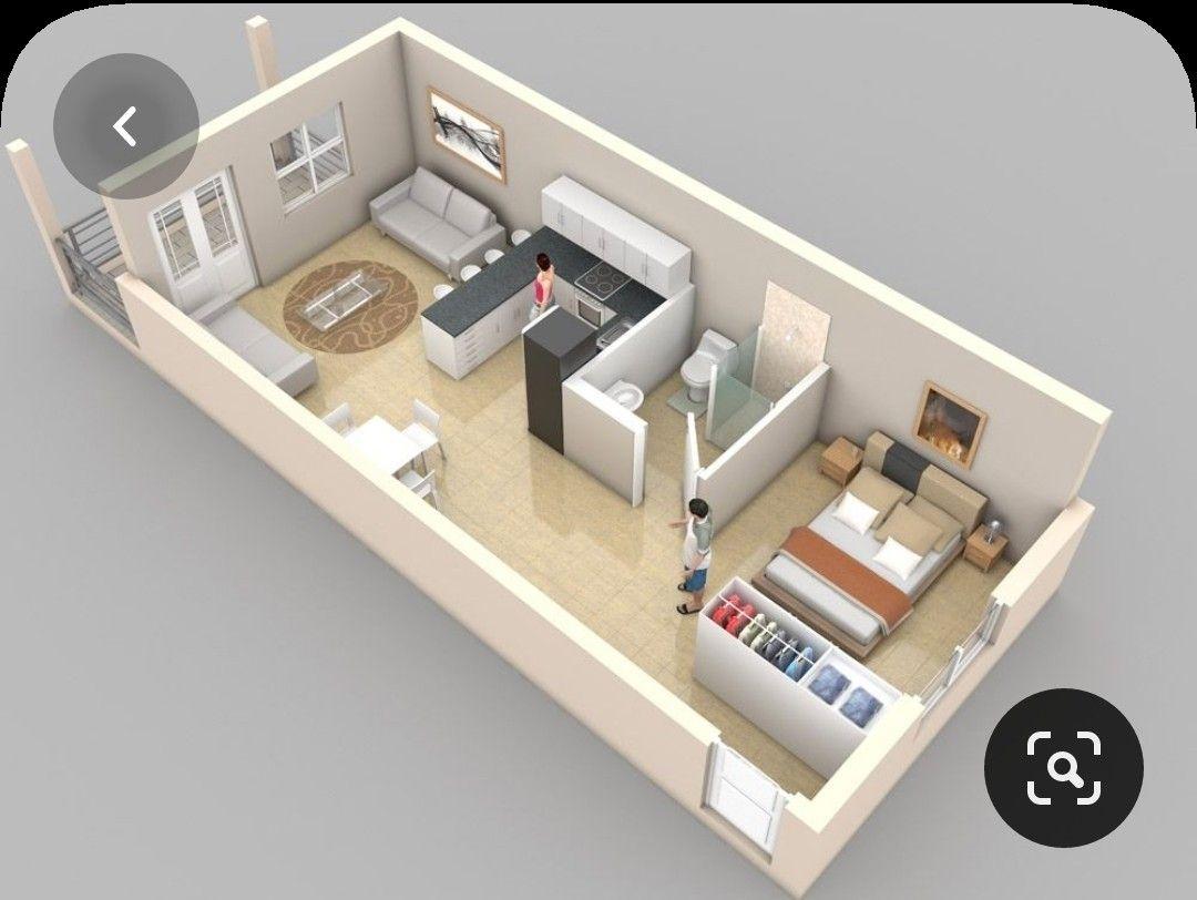 Pin By Amy Yelena Verde Izquierdo On Planos In 2020 Studio Apartment Floor Plans Bedroom Floor Plans Condo Floor Plans