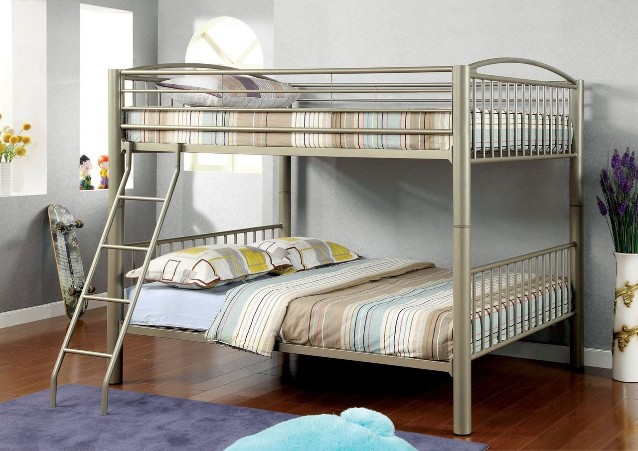 Corner twin loft bed  Paddington Metallic Gold Full Metal Bunk Frame  Pinterest  Metal