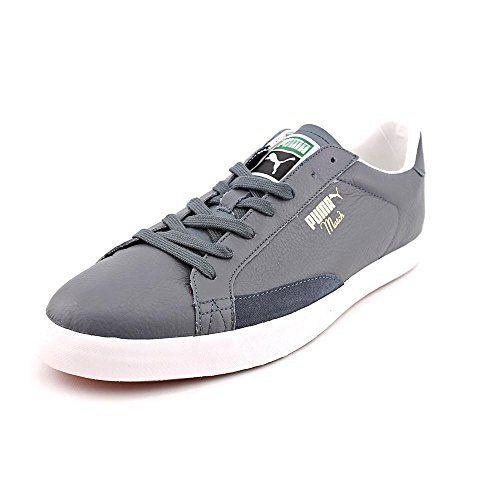 80915558d74d6 Puma Match Vulc Herren Grau Leder Turnschuhe Schuhe Neu EU 42