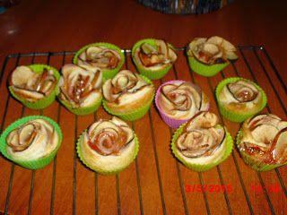 Os Petiscos da Belita: Rosas de maça