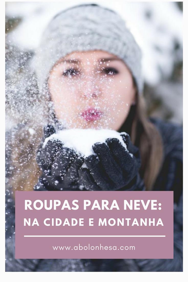 A técnica para escolha de roupas para neve na cidade ou na montanha não é a mesma. Para não tornarmos o passeio desagradável por causa do frio precisamos atentar para detalhes que sequer imaginamos.
