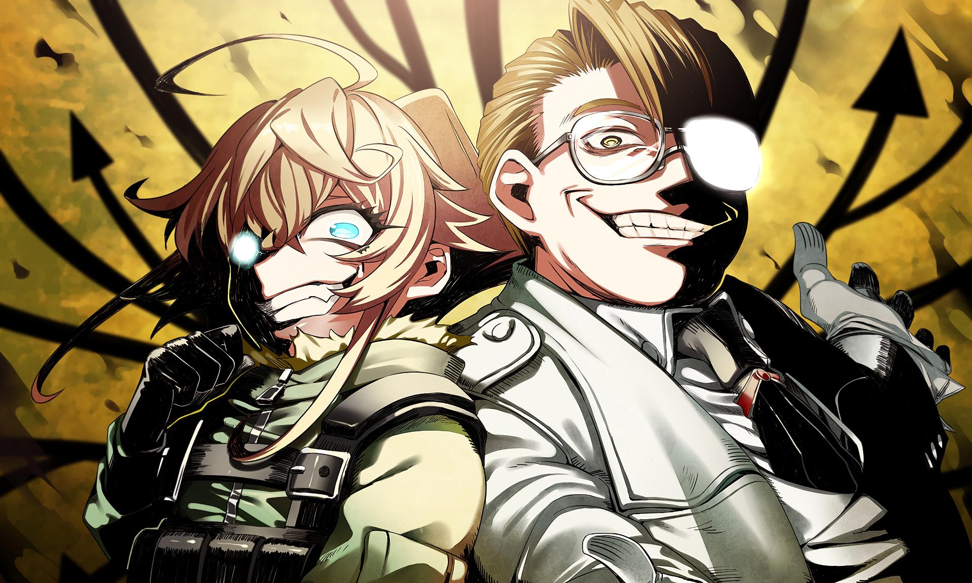 Anime Crossover Wallpaper ヘルシング, アニメ コラボ, 漫画イラスト