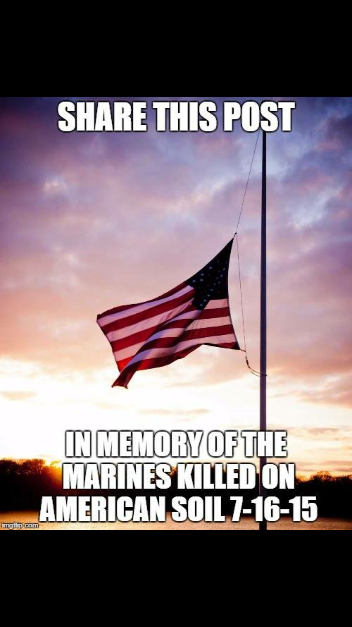 should flags be at half staff today