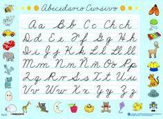 Abecedario Letra Cursiva Para Imprimir Alojamiento De Imágenes Daily Schedule Kids Learning Letters School Worksheets