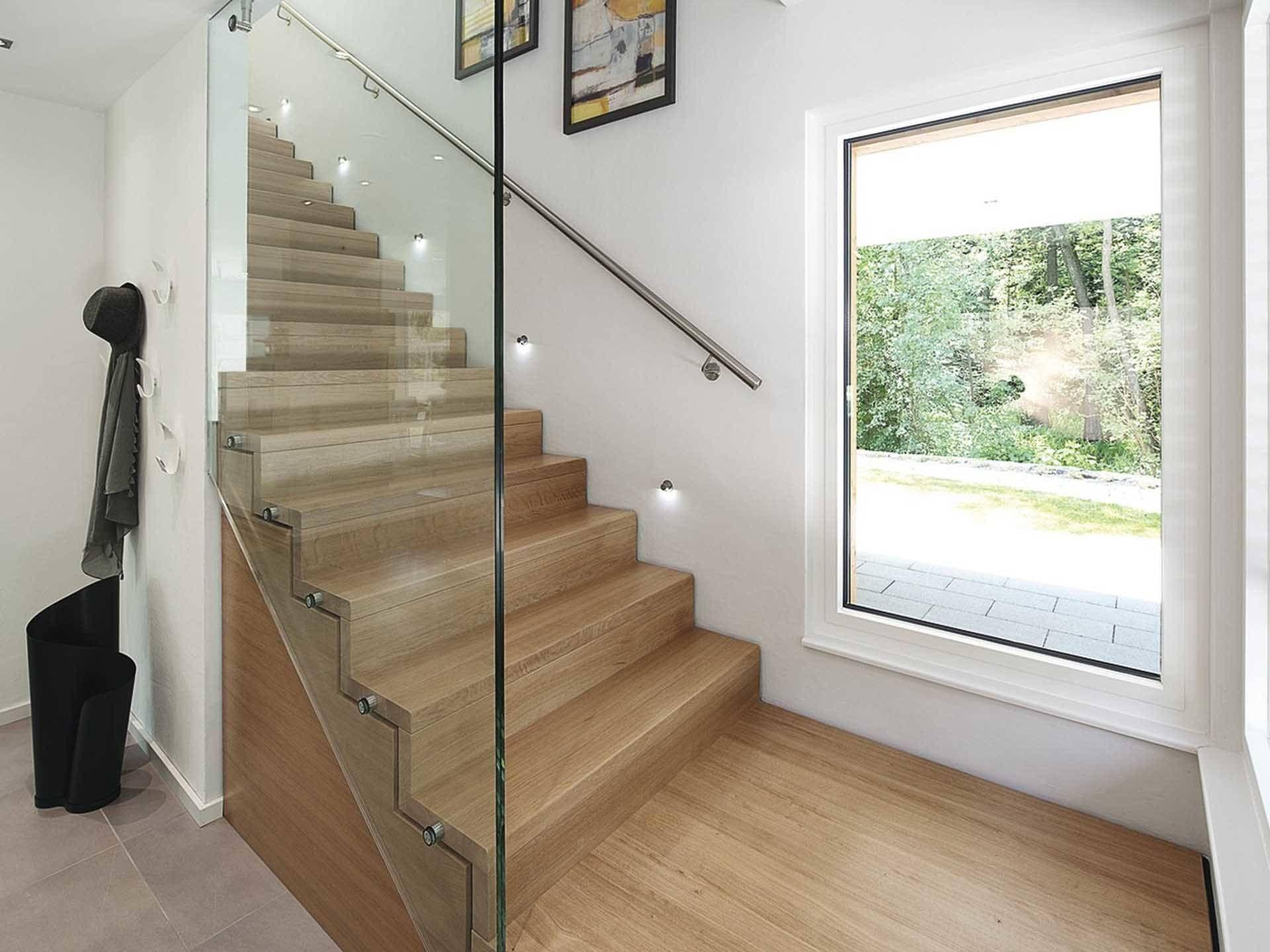 Musterhaus innenausstattung  Treppe im Haus CityLife 700 von WeberHaus • Mit Musterhaus.net ...