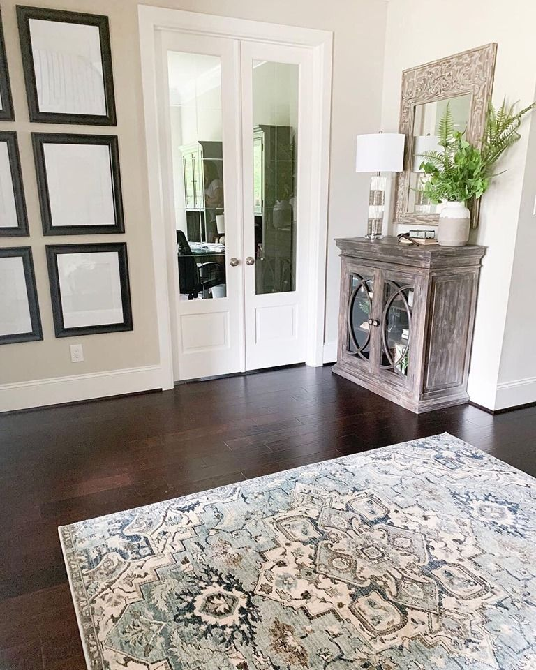 With This Rug Add A Welcome Pop Of Color To Your Space