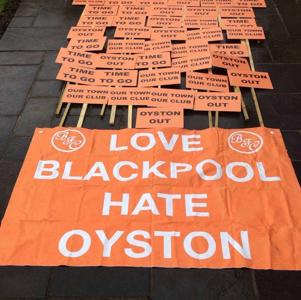 OYSTON OUT