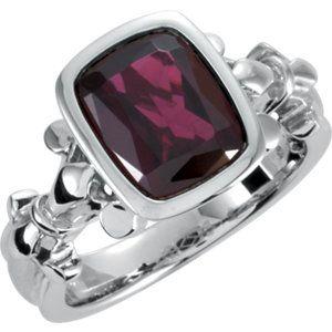 Fleur-de-lis Design Ring