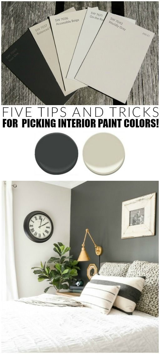 How to Pick the Right Paint Colors For Your Home #indoorpaintcolors