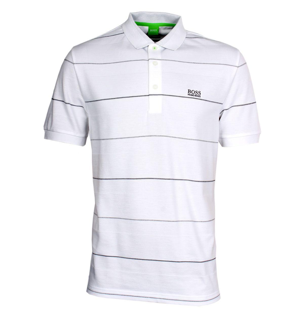 d3f3c4f12 BOSS Green Polo Shirts. BOSS Green Paddy 1 Black Modern Fit Pique Polo Shirt