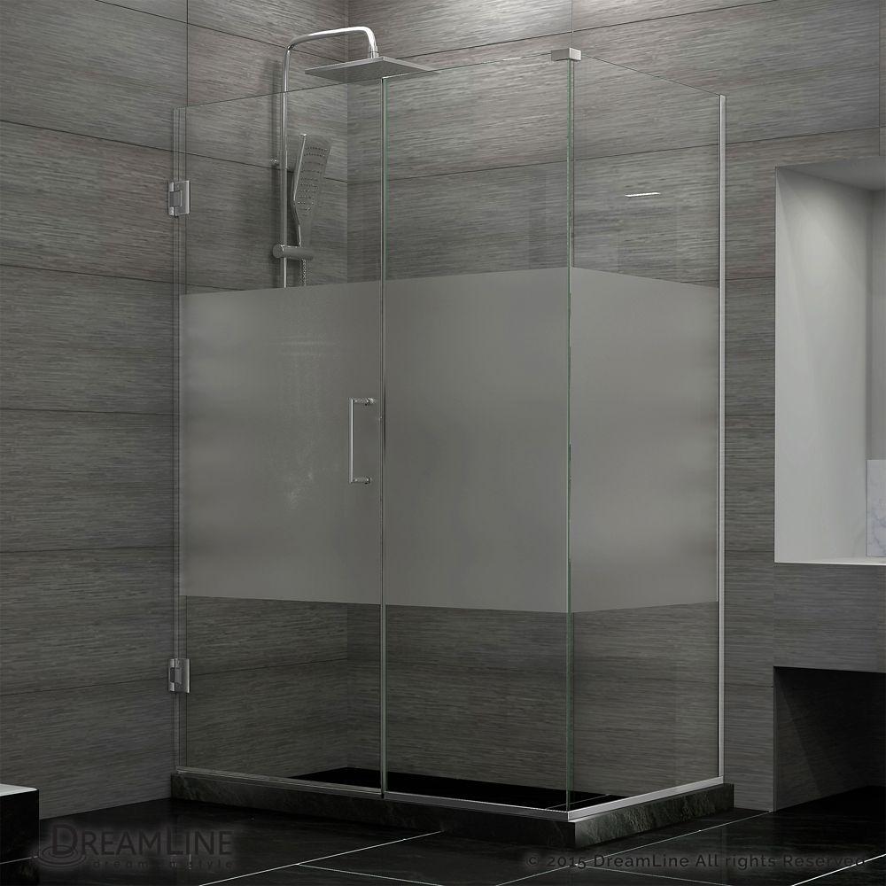 Unidoor Plus 30 3 8 Inch X 46 Inch X 72 Inch Hinged Shower