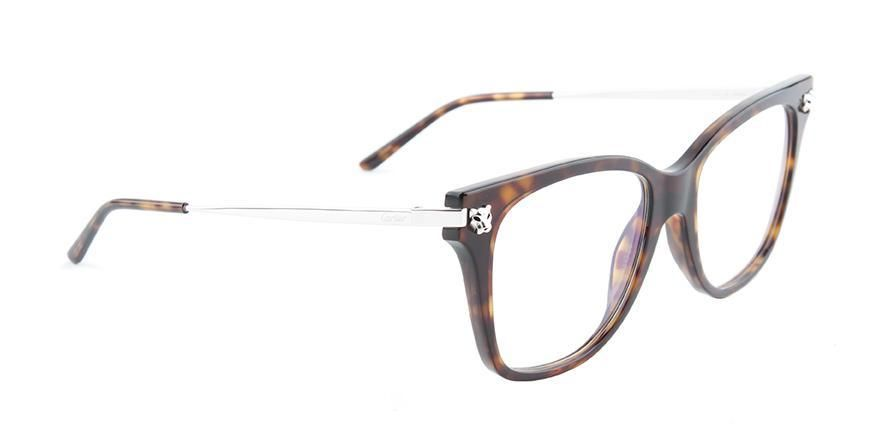 35a3bba482d0 Cartier - Panthère de Cartier CT0026O - 002-eyeglasses-Designer Eyes ...