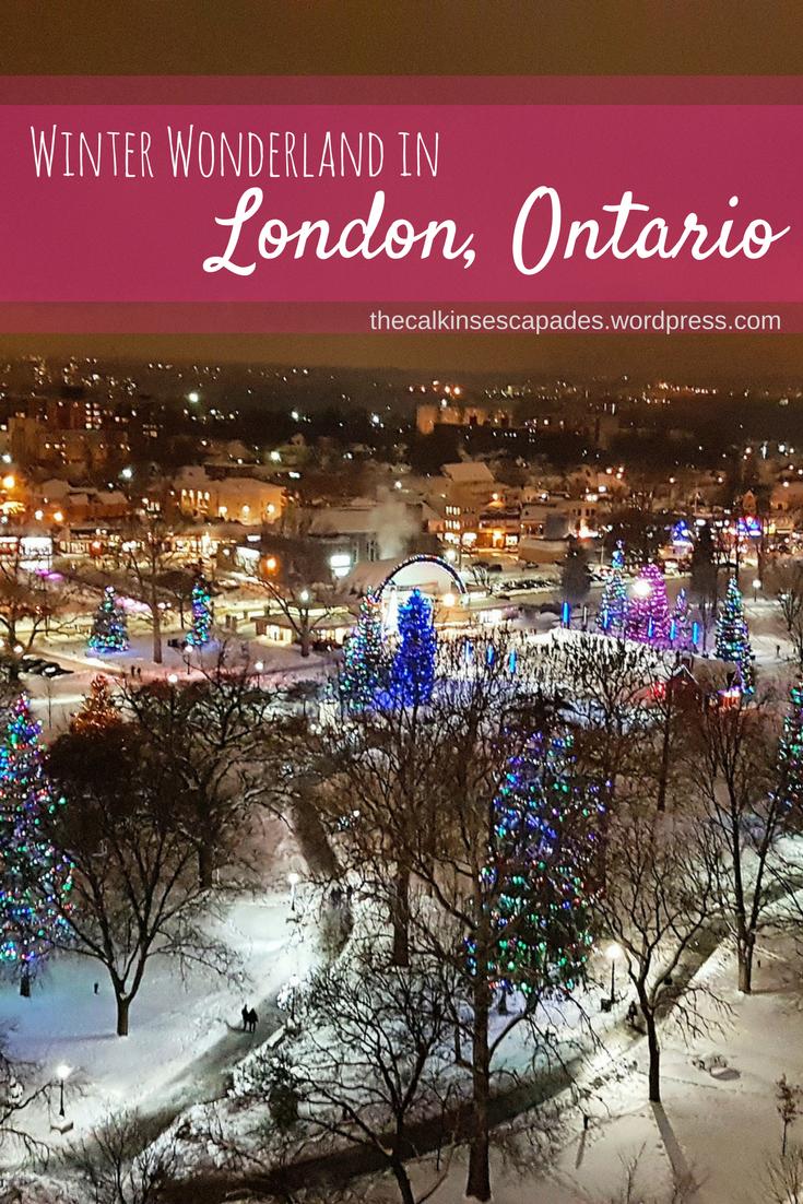 Winter Wonderland In Downtown London Ontario Ontario Winter Ontario London Canada Travel