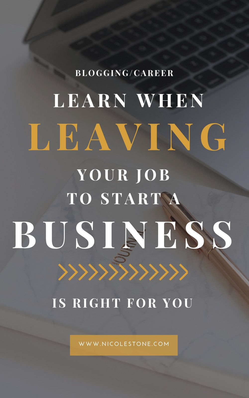 When to Quit Your Job to Pursue Your Own Business (What