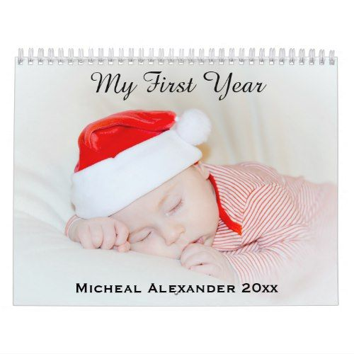 2018 Personalized Add Your Baby Kids Family Photo Calendar Photo - photo calendar