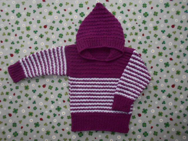Pullover Größe 62-74 Handmade Baby