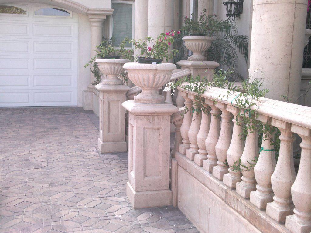 Best Concrete Balustrade Gardens Pinterest Planters 640 x 480
