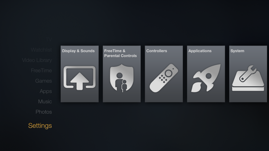 Go to your Amazon Fire Settings Amazon fire stick, Tv