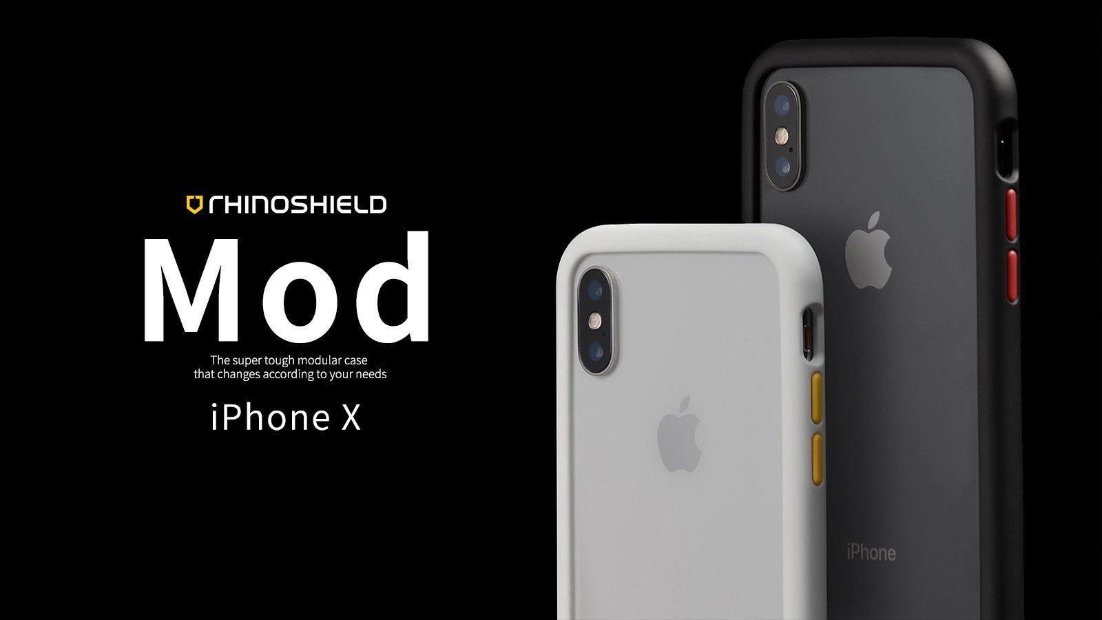 Rhino Shield MOD 邊框背蓋兩用殼 iPhone X Iphone