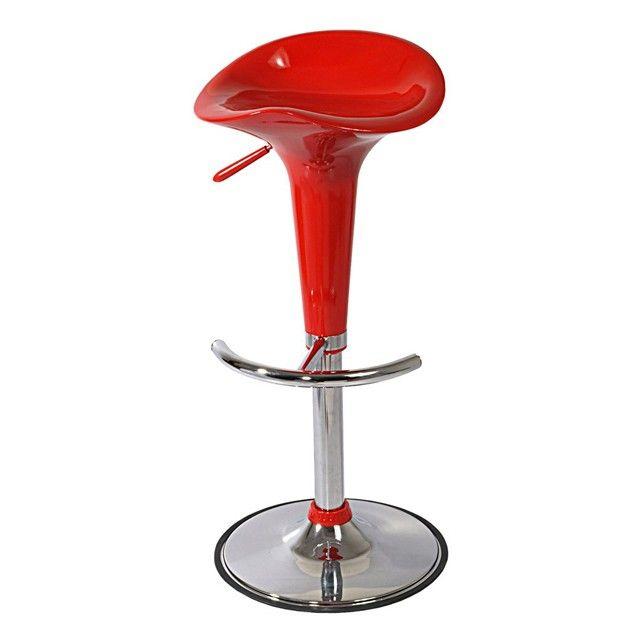 Tabouret De Bar Reglable Flex Rouge Tabouret De Bar Tabouret De Bar Reglable Meuble