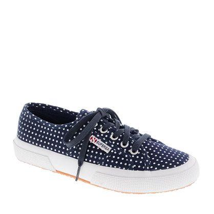 polka-dot sneakers!  <3