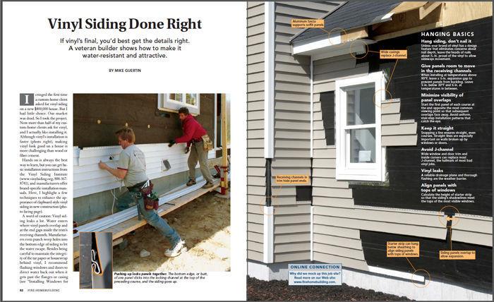 Vinyl Siding Done Right Vinyl Siding Building A House Siding