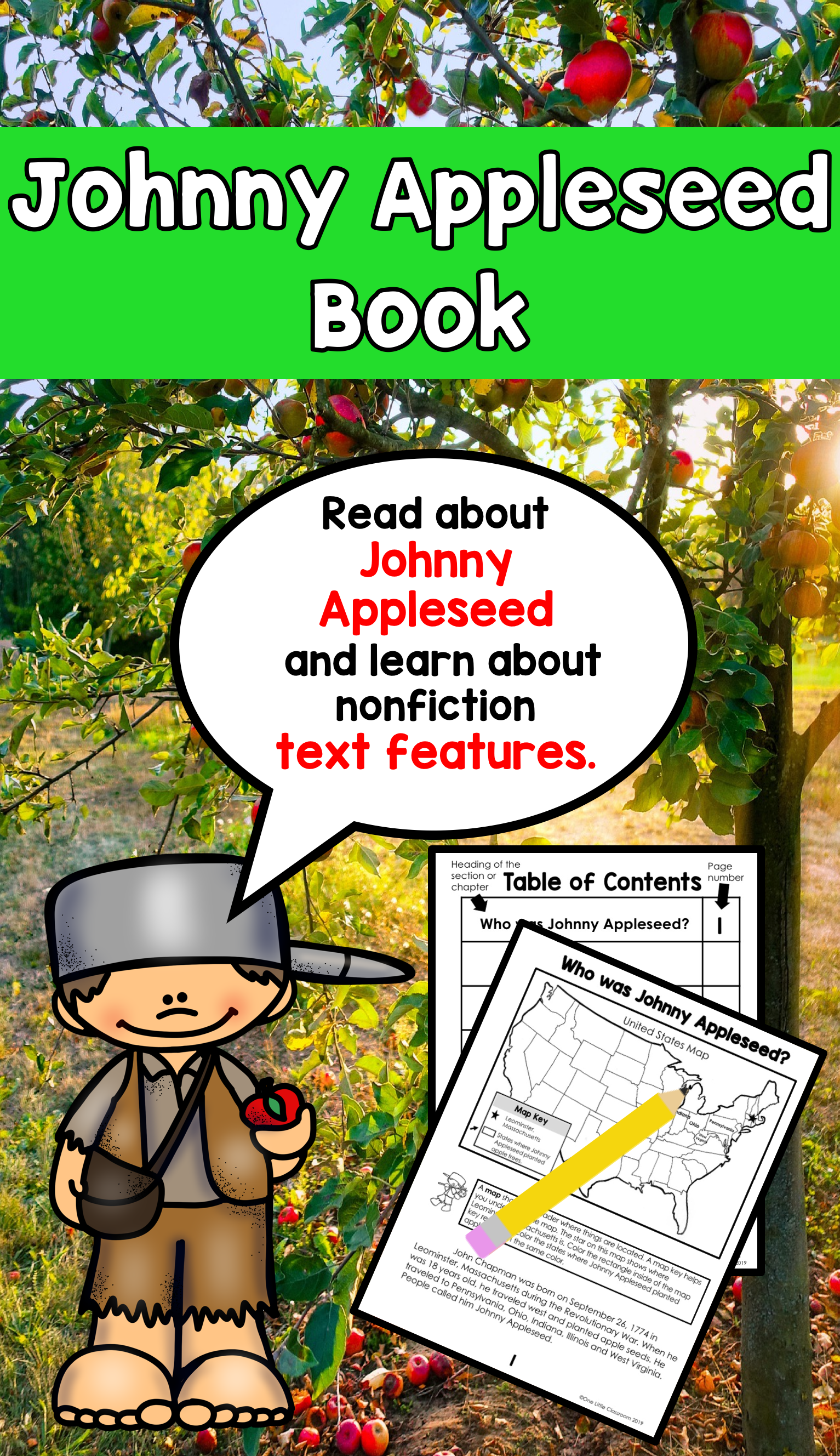 Read About Johnny Appleseed And Learn About Nonfiction