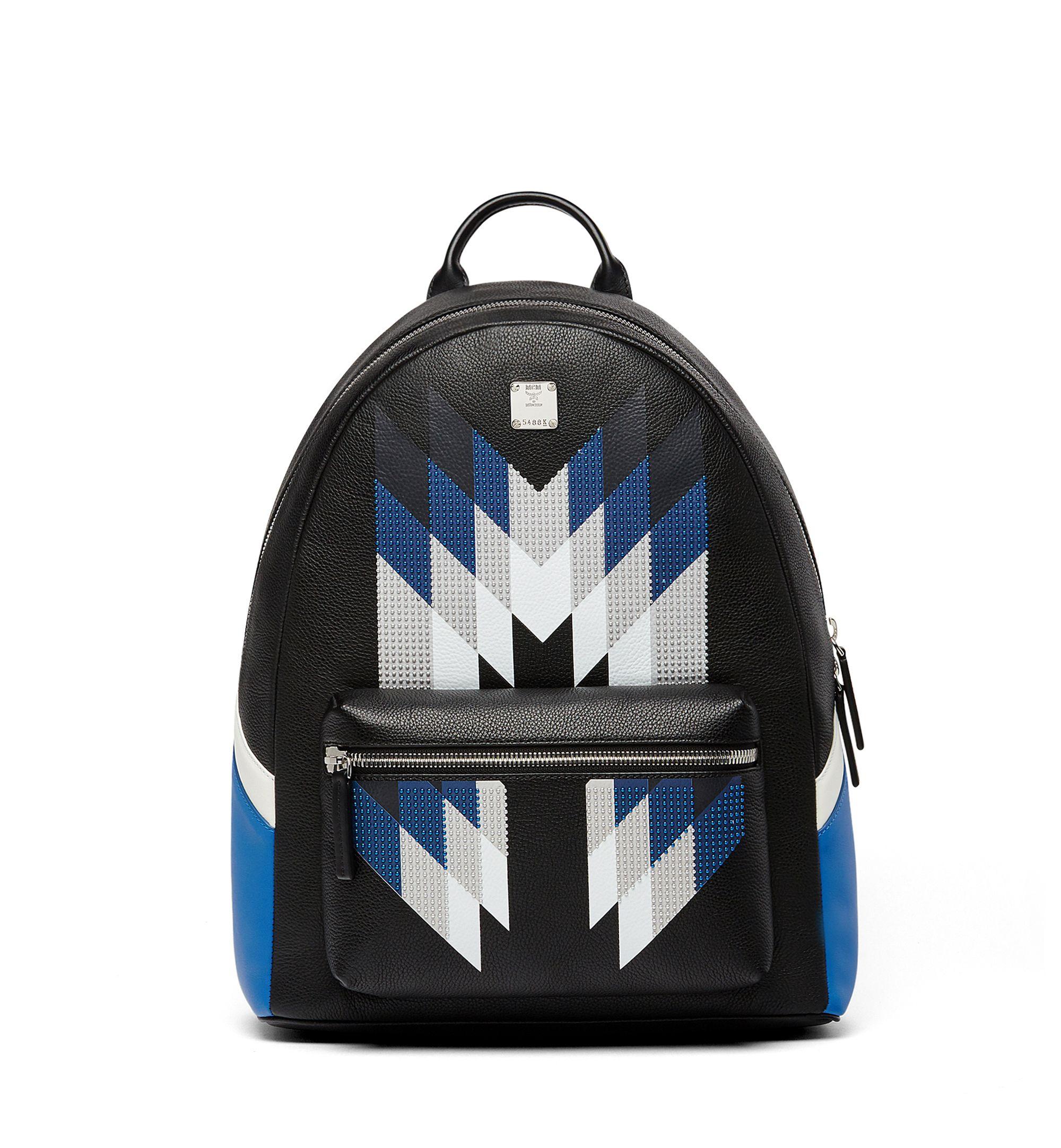 116110de797 MCM STARK BACKPACK IN M DIAMOND.  mcm  bags  leather  backpacks ...