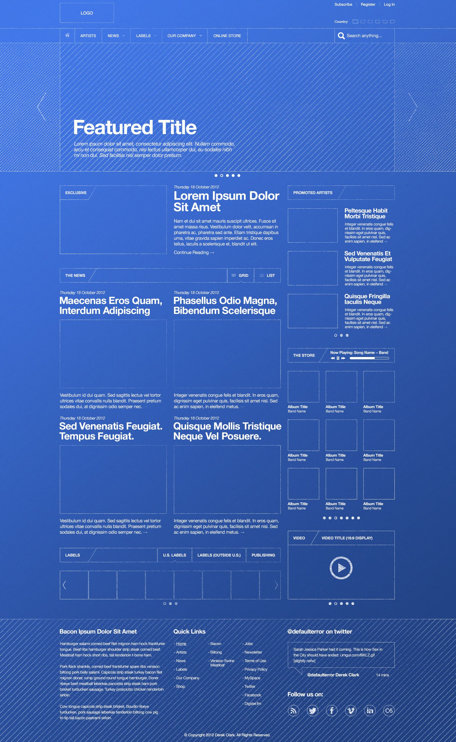 Blueprint themed wireframe designer derek clark ux ui blueprint themed wireframe designer derek clark malvernweather Choice Image