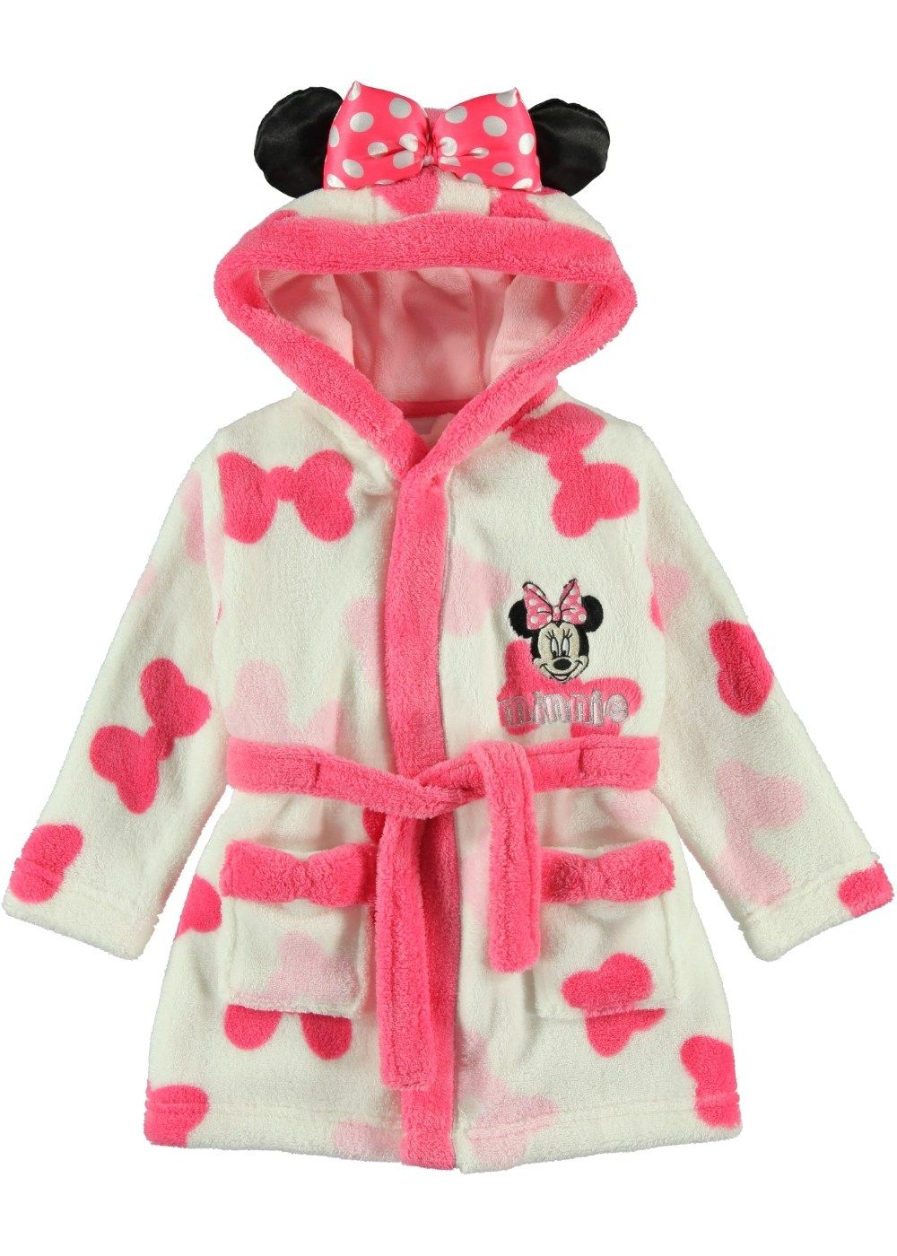 Girls Minnie Mouse Dressing Gown Matalan Future Baby